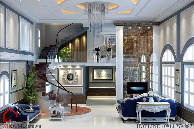 Thiết kế nội thất tân cổ điển đẹp 2