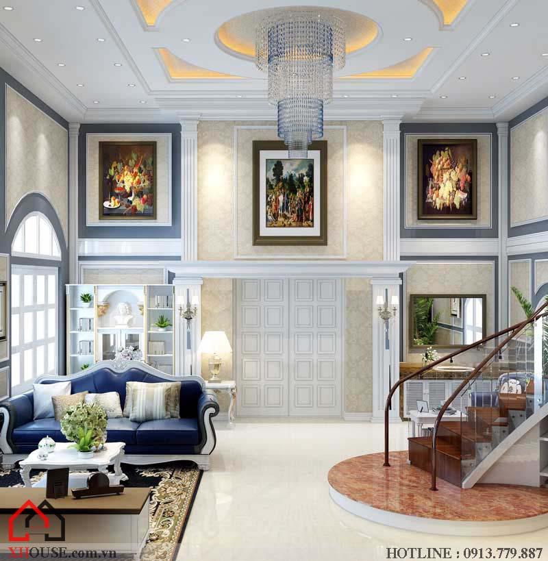 Thiết kế nội thất tân cổ điển đẹp 3