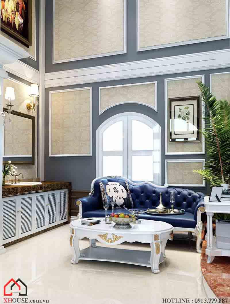 Thiết kế nội thất tân cổ điển đẹp 4
