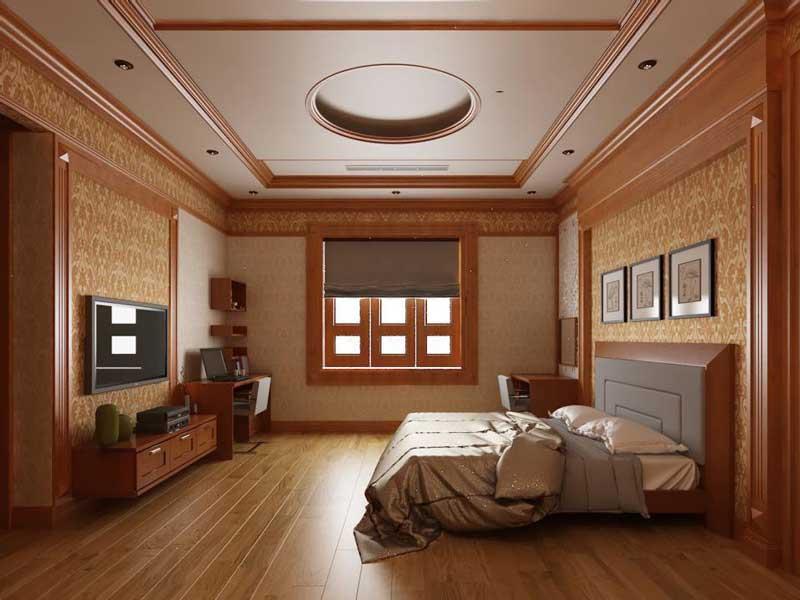 Bản vẽ thiết kế biệt thự gỗ 10