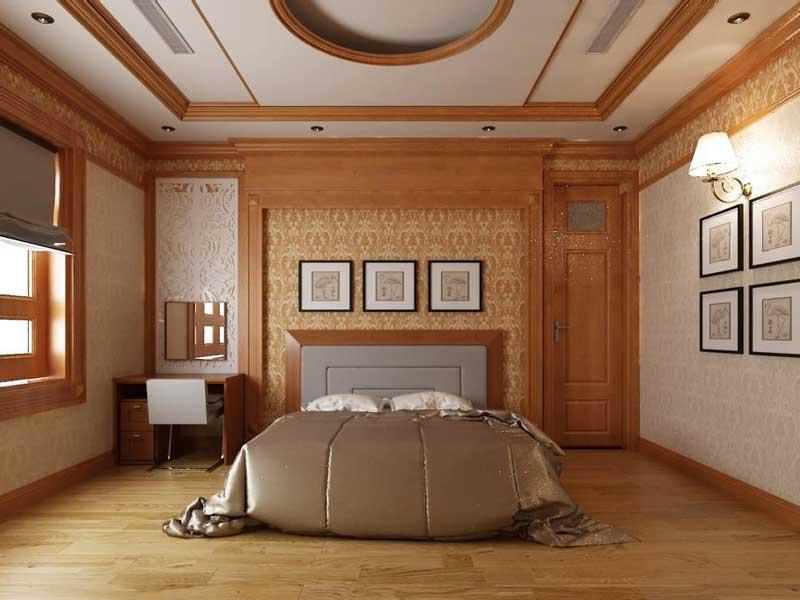 Bản vẽ thiết kế biệt thự gỗ 11