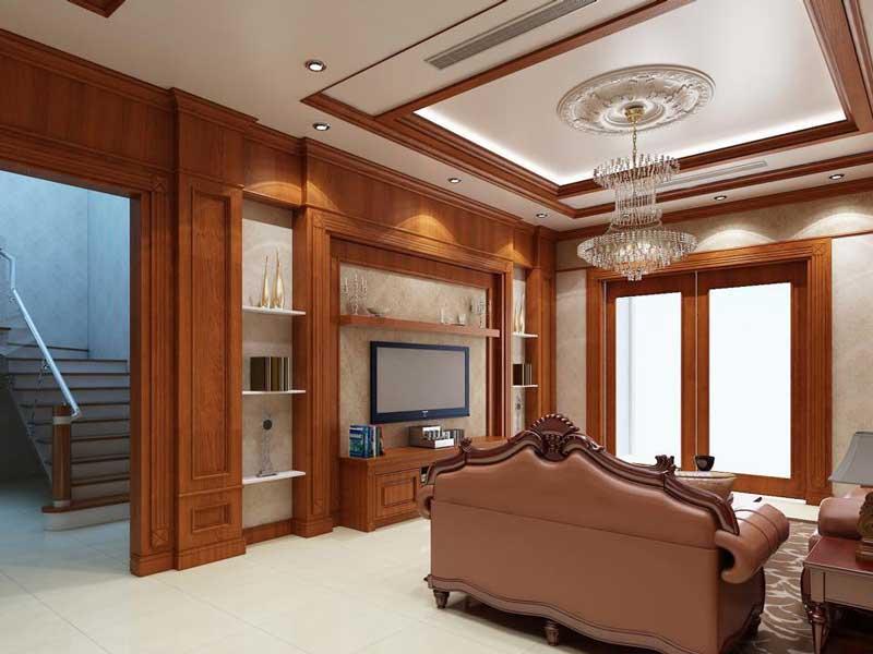 Bản vẽ thiết kế biệt thự gỗ 4
