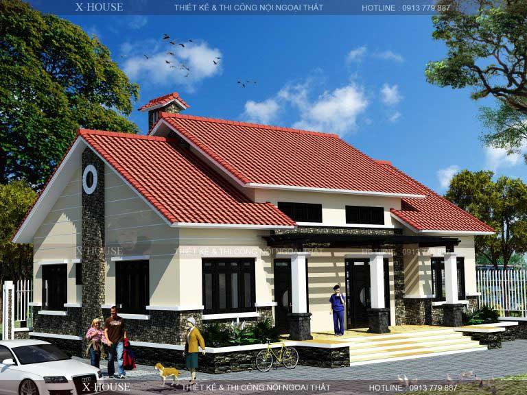 Mau Thiet Ke Nha Cap 4 Co Phong Tho 1 768×576