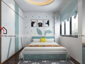 Mẫu thiết kế nội thất phòng ngủ hiện đại 1