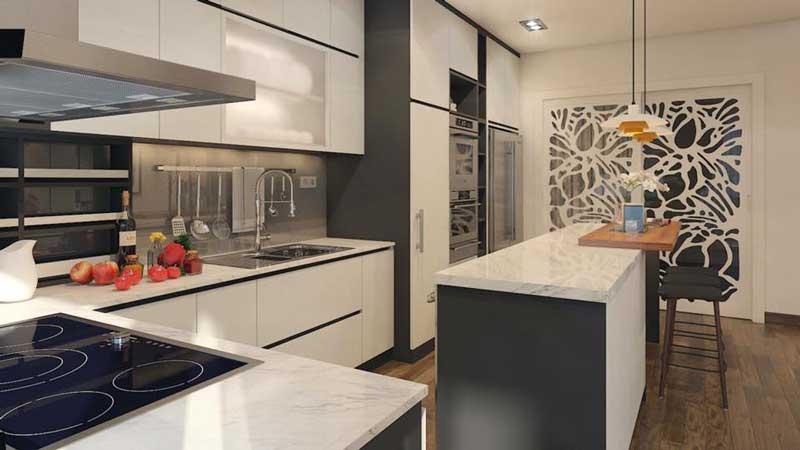 Thiết kế căn hộ 100m2 3 phòng ngủ 11