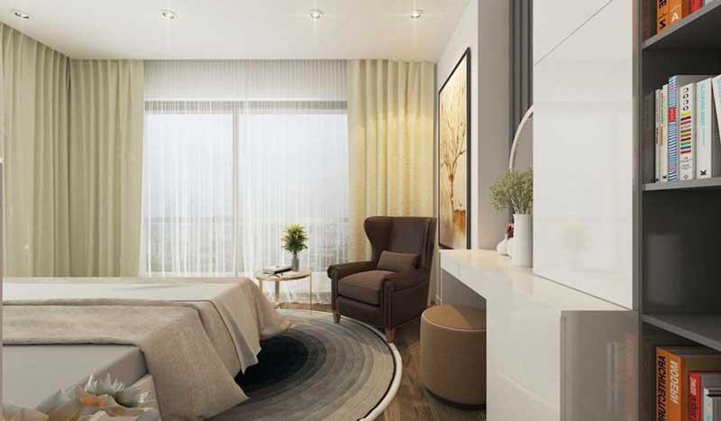 Thiết kế căn hộ 100m2 3 phòng ngủ 16