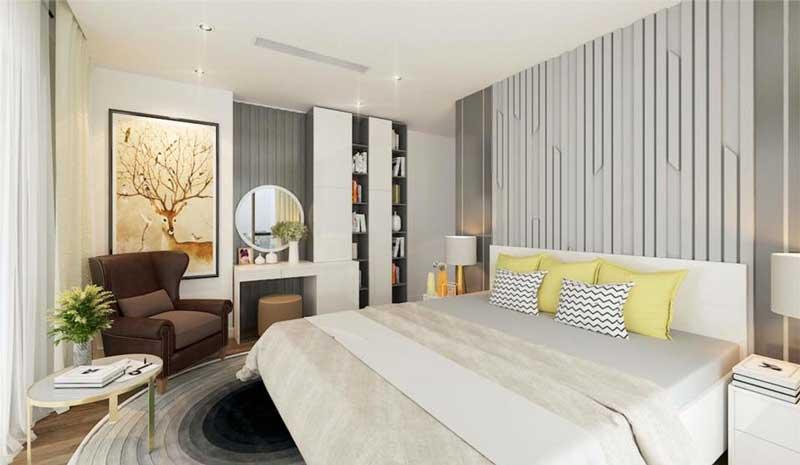 Thiết kế căn hộ 100m2 3 phòng ngủ 17