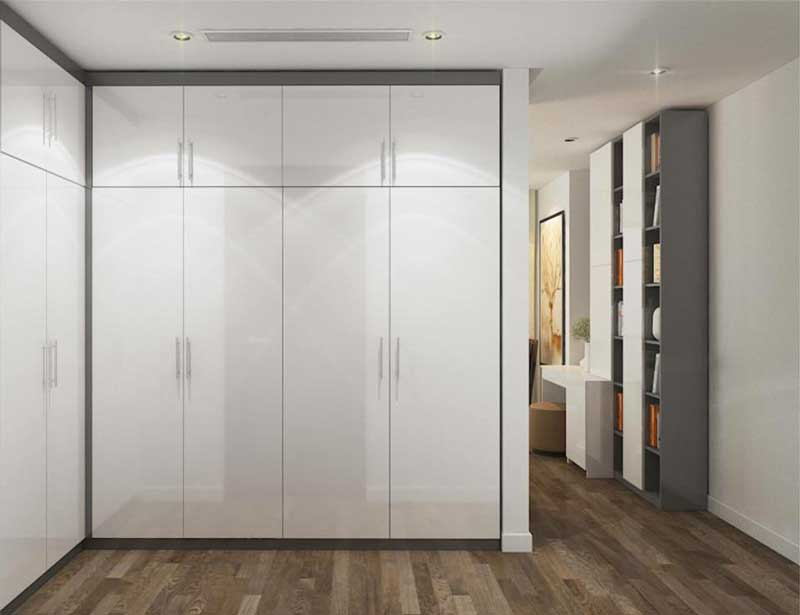Thiết kế căn hộ 100m2 3 phòng ngủ 19