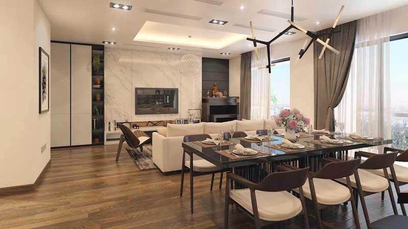 Thiết kế căn hộ 100m2 3 phòng ngủ 20