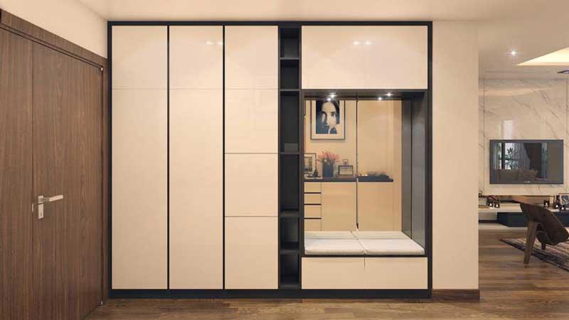 Thiết kế căn hộ 100m2 3 phòng ngủ 6