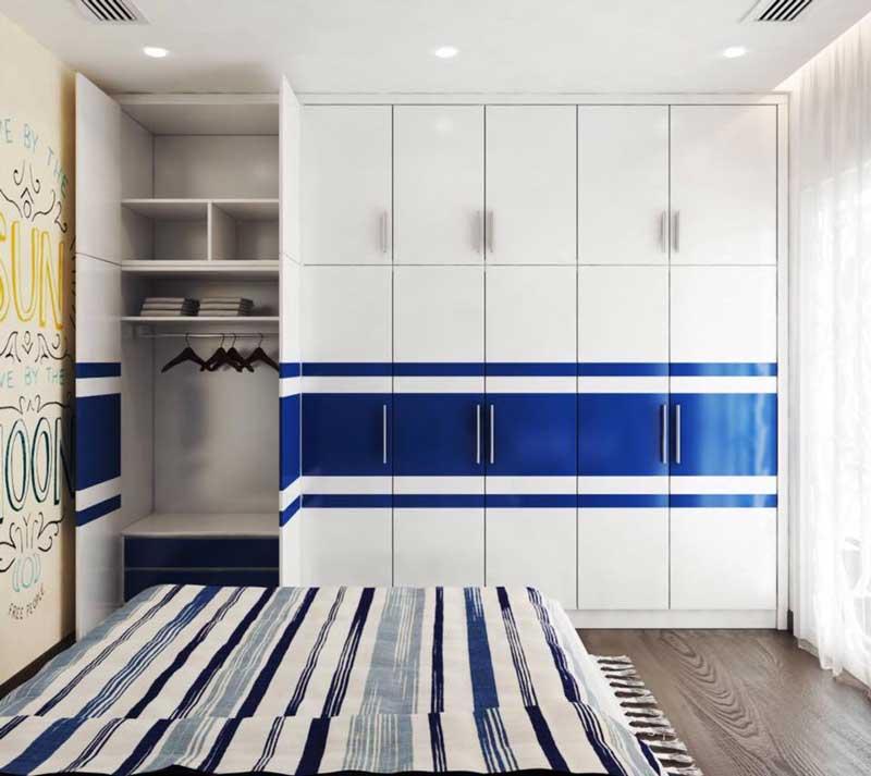 Thiết kế căn hộ 100m2 3 phòng ngủ 7