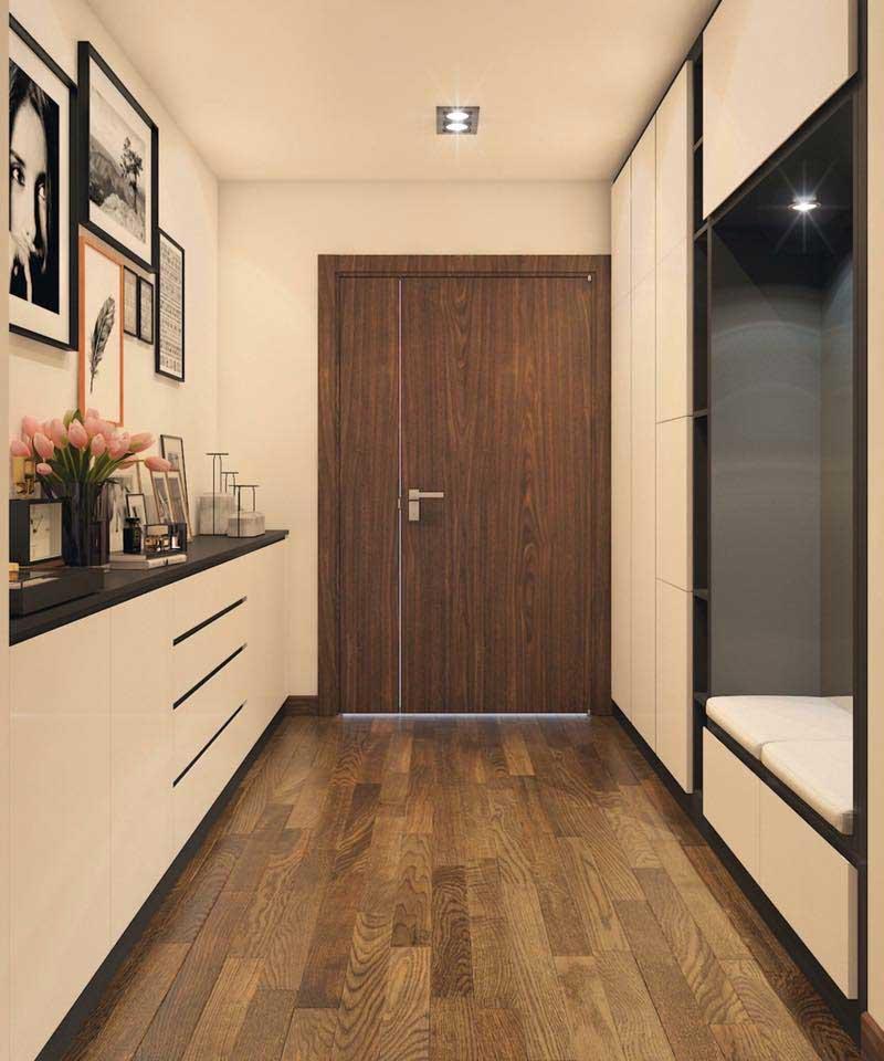 Thiết kế căn hộ 100m2 3 phòng ngủ 9