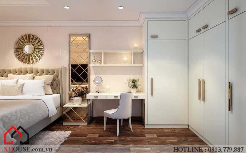 Thiết kế căn hộ chung cư 2 phòng ngủ 10