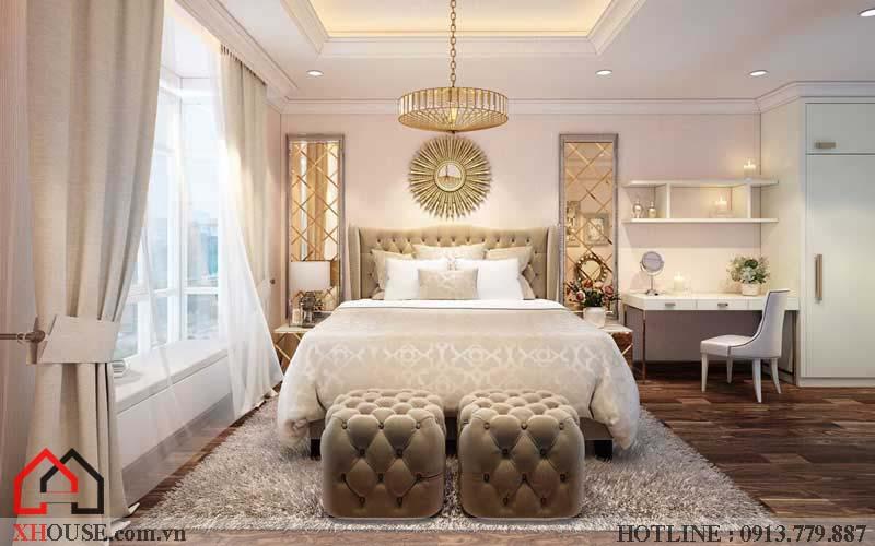 Thiết kế căn hộ chung cư 2 phòng ngủ 8