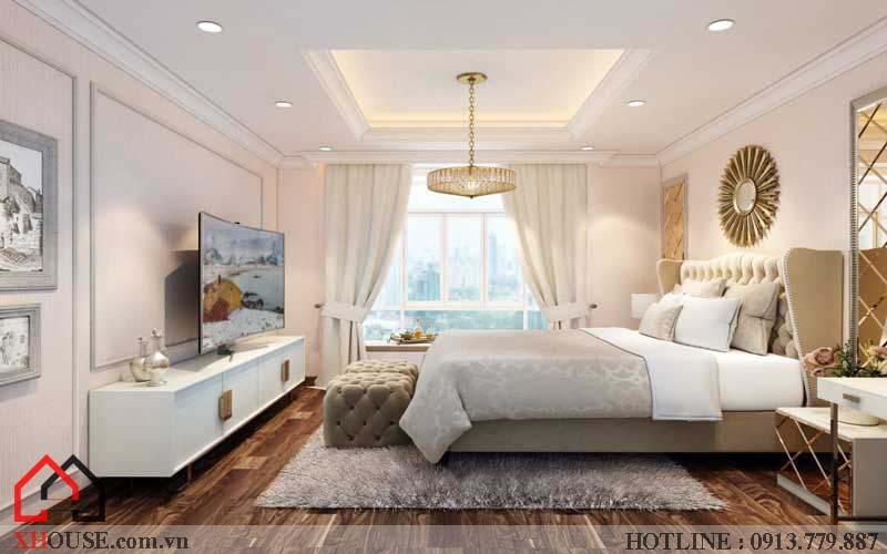 Thiết kế căn hộ chung cư 2 phòng ngủ 9