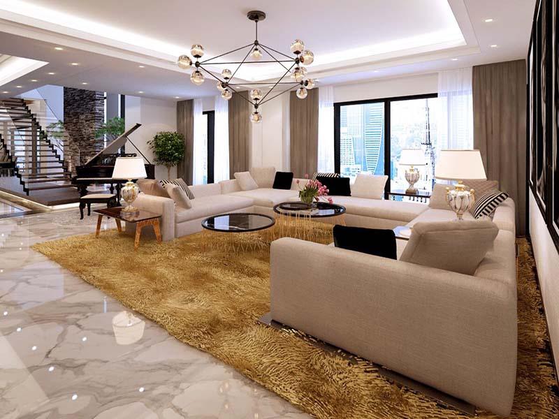 Thiết kế nội thất biệt thự hiện đại 14