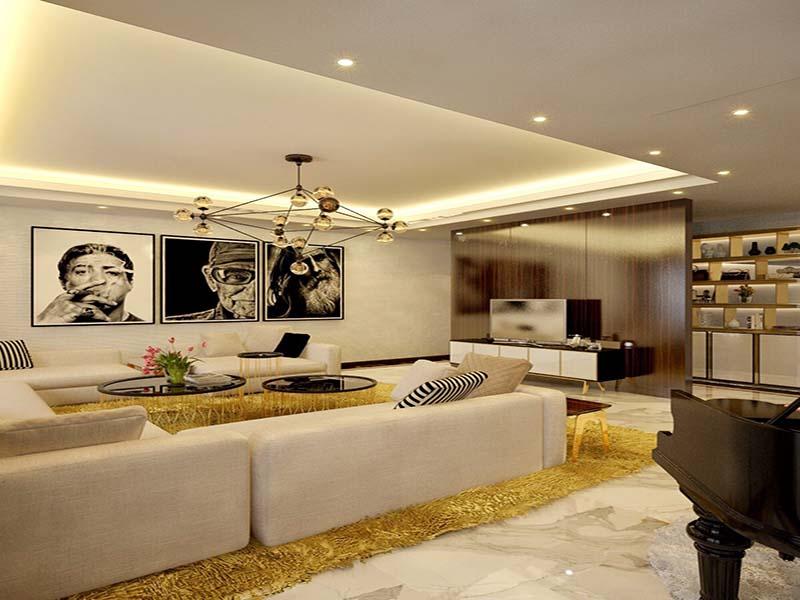 Thiết kế nội thất biệt thự hiện đại 17