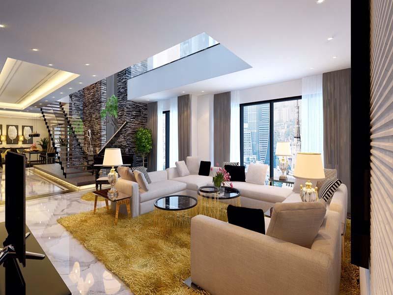 Thiết kế nội thất biệt thự hiện đại 18