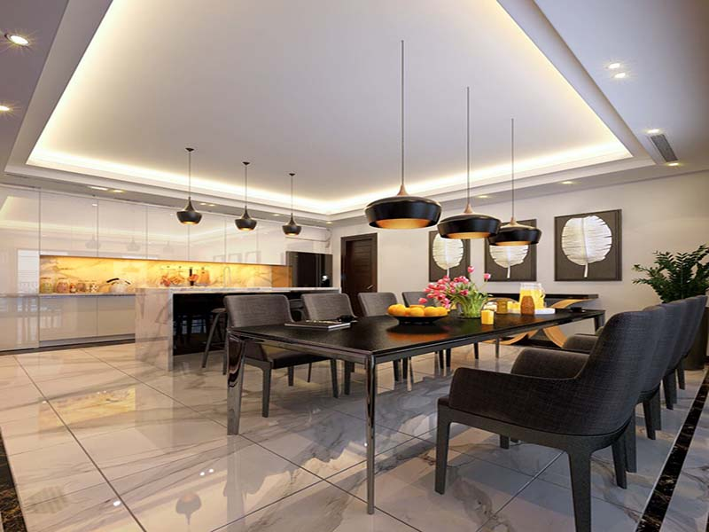 Thiết kế nội thất biệt thự hiện đại 2