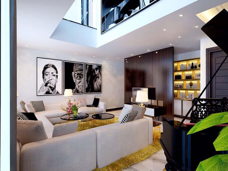 Thiết kế nội thất biệt thự hiện đại 20