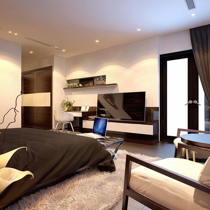 Thiết kế nội thất biệt thự hiện đại 7