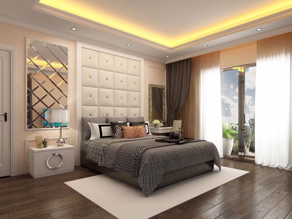 Thiết kế nội thất căn hộ 1 phòng ngủ 2