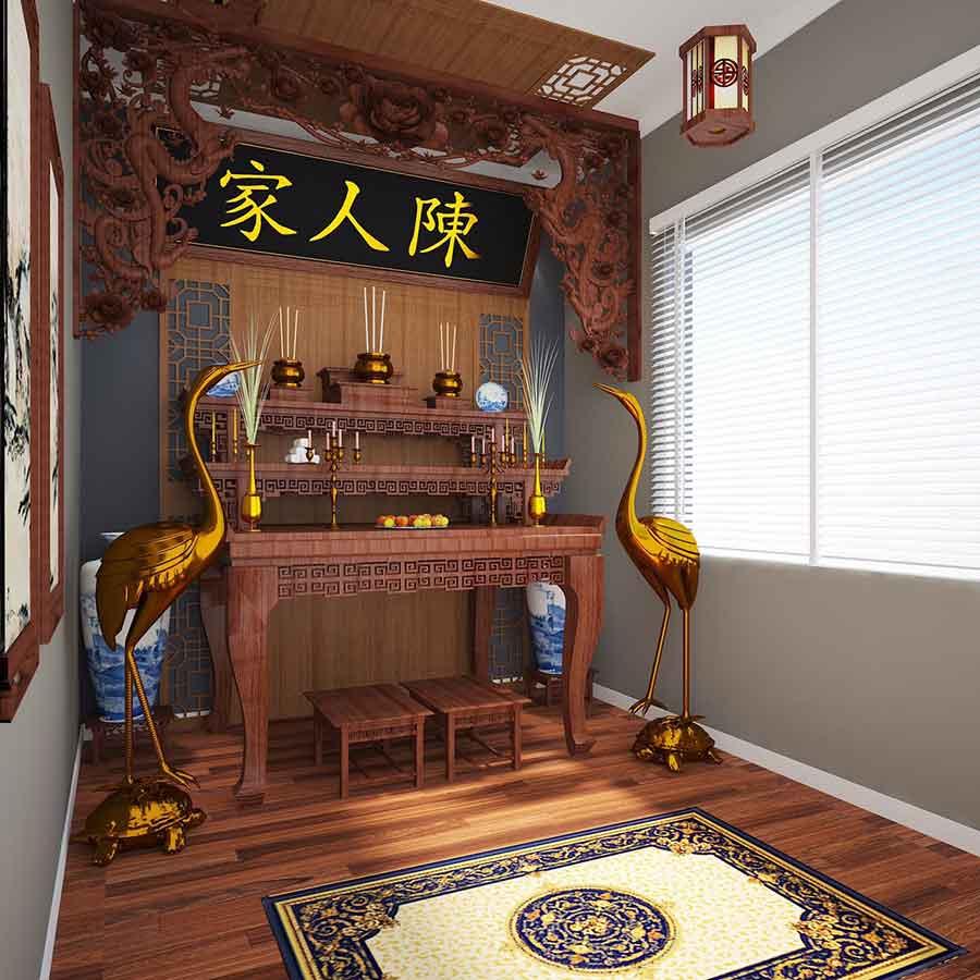 Thiết kế nội thất căn hộ 1 phòng ngủ 4