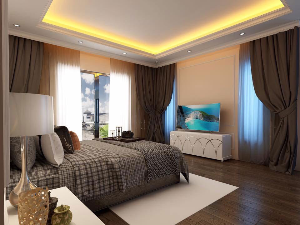 Thiết kế nội thất căn hộ 1 phòng ngủ 7