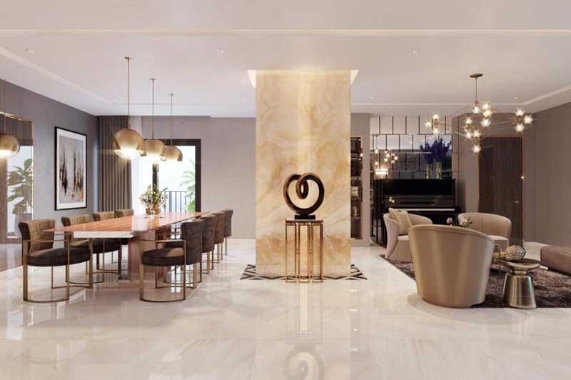 Thiết kế nội thất chung cư sang trọng 10