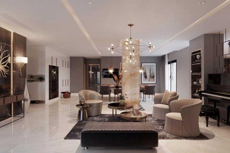 Thiết kế nội thất chung cư sang trọng 11