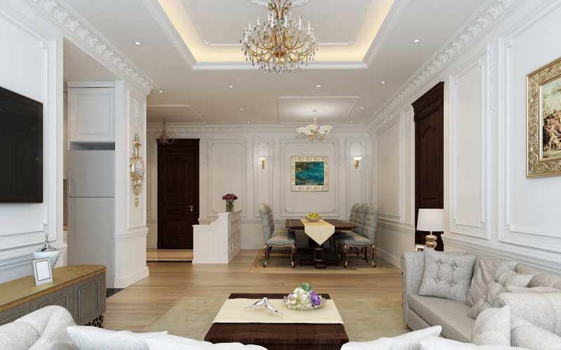 Thiết kế nội thất chung cư sang trọng 3