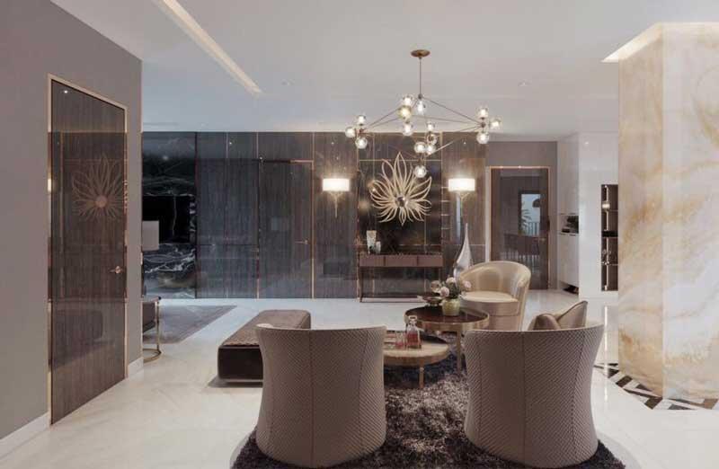 Thiết kế nội thất chung cư sang trọng 8