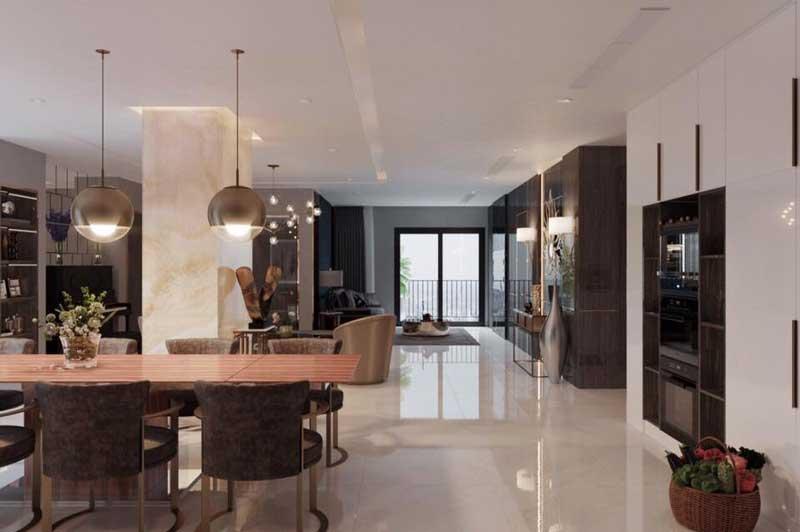 Thiết kế nội thất chung cư sang trọng 9