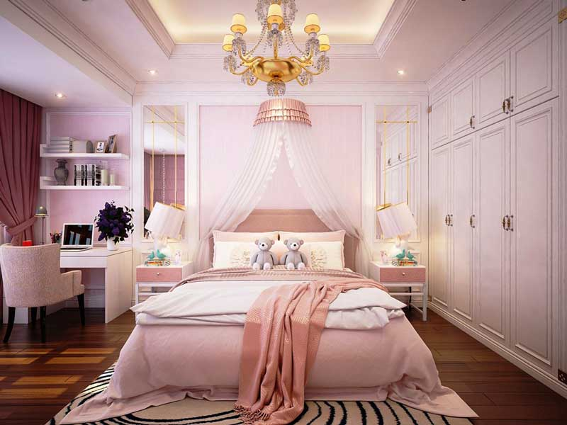 Thiết kế nhà biệt thự 4 phòng ngủ 5