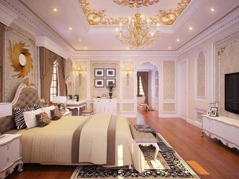 Thiết kế nhà biệt thự 4 phòng ngủ 7