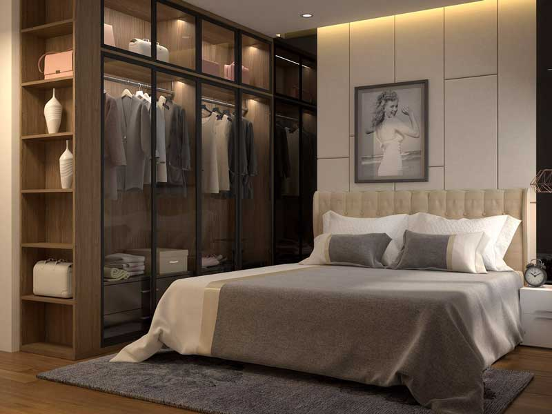 Thiết kế nhà biệt thự 4 phòng ngủ 9