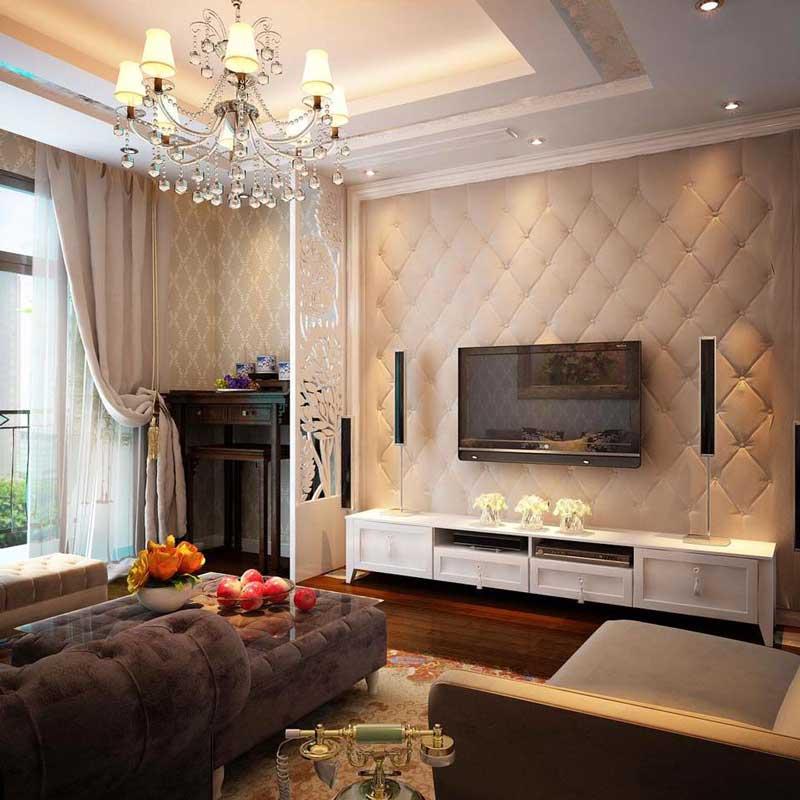 Thiết kế nội thất phòng khách tân cổ điển 2