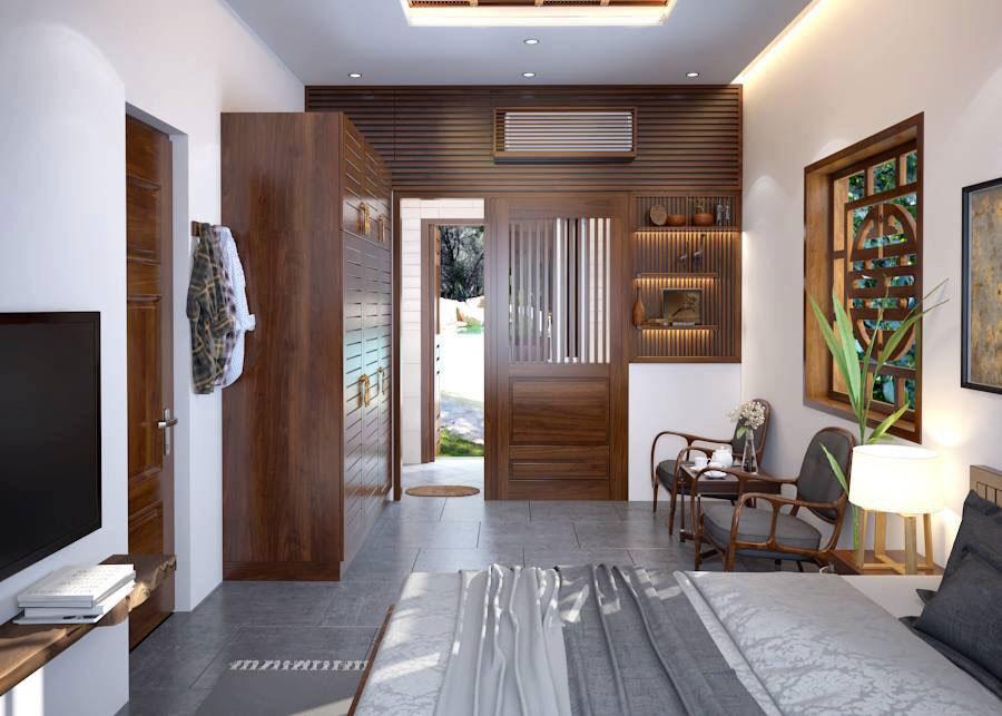 Thiết kế nội thất theo phong cách đồng quê 2