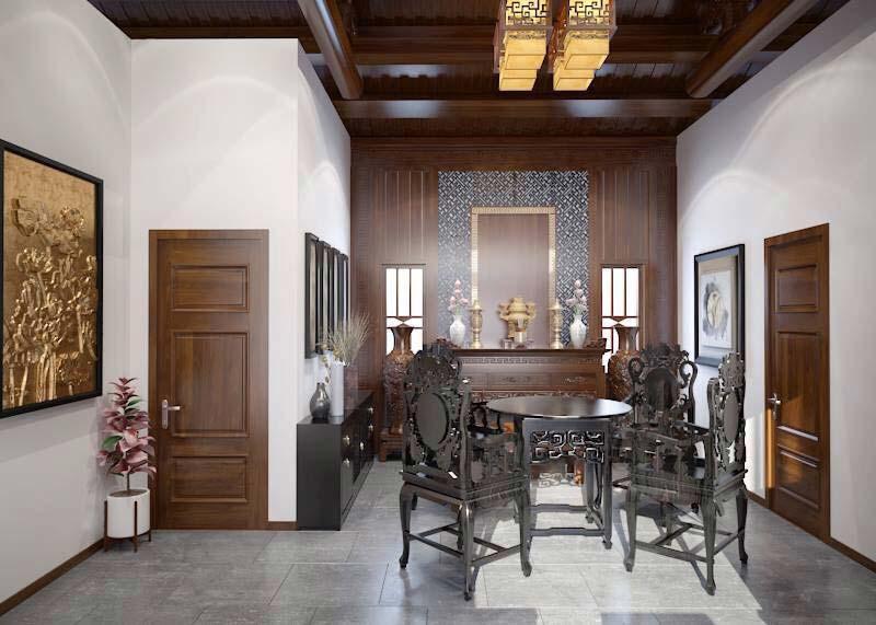 Thiết kế nội thất theo phong cách đồng quê 6