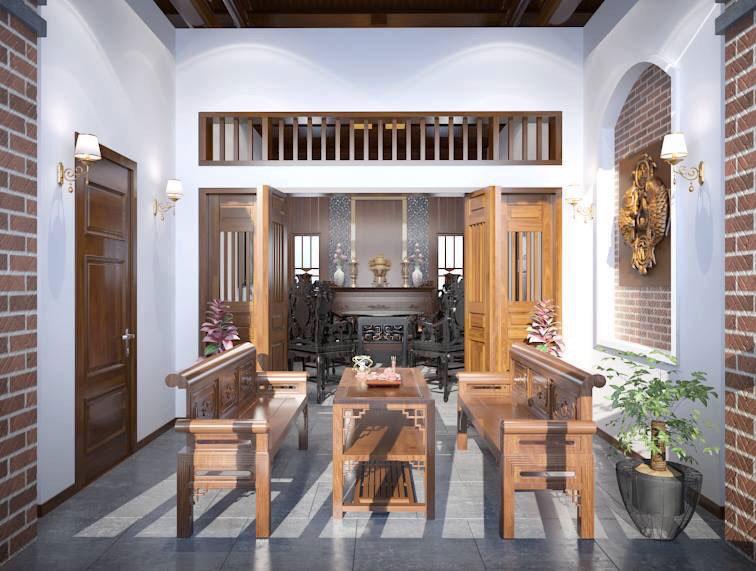 Thiết kế nội thất theo phong cách đồng quê 7