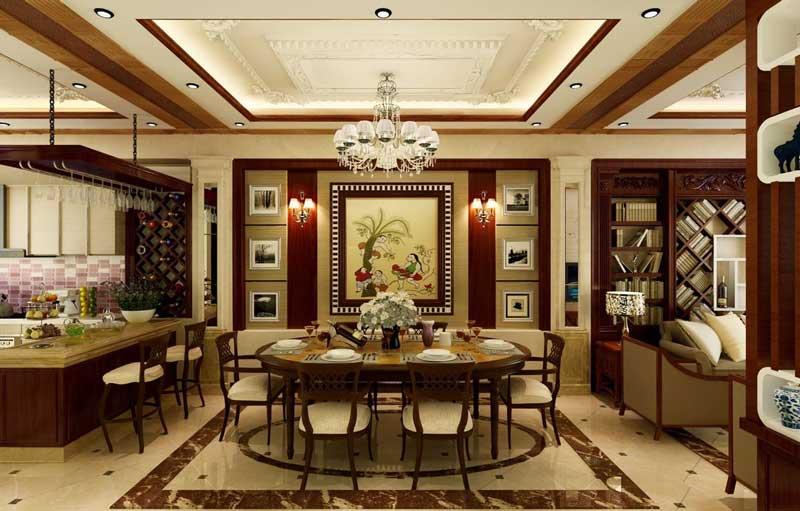 Thiết kế nội thất theo phong cách tân cổ điển 3