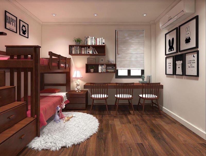 Mẫu thiết kế nội thất gỗ đẹp kết hợp phong cách tân cổ điển 15