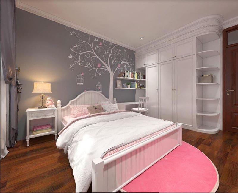 Mẫu thiết kế nội thất gỗ đẹp kết hợp phong cách tân cổ điển 18