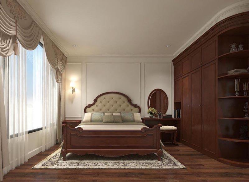 Mẫu thiết kế nội thất gỗ đẹp kết hợp phong cách tân cổ điển 21