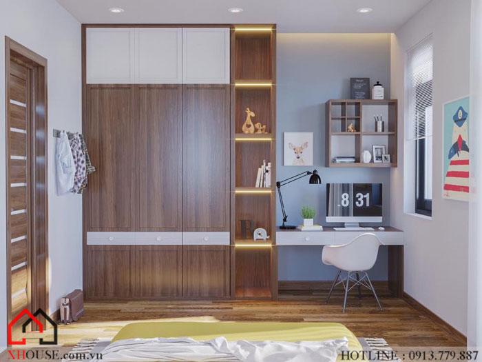 Tư vấn thiết kế mẫu biệt thự 3 phòng ngủ 10