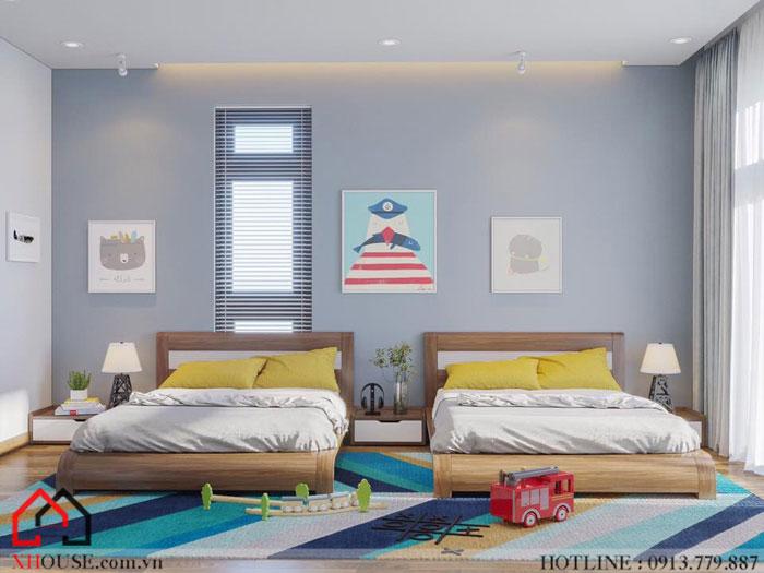 Tư vấn thiết kế mẫu biệt thự 3 phòng ngủ 9