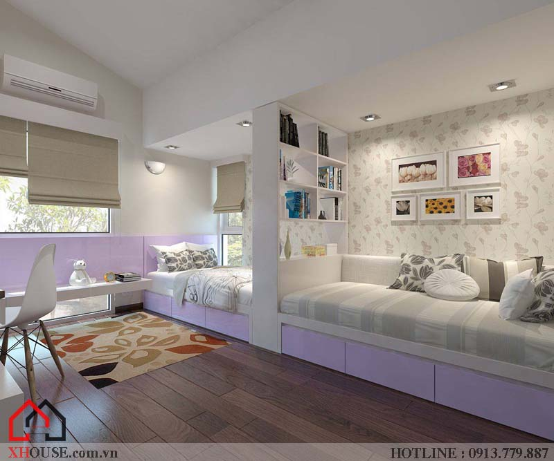 Thiết kế mẫu biệt thự đơn lập đẹp 11