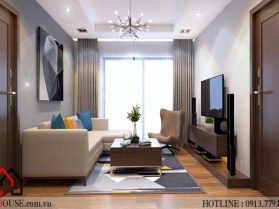 Thiết kế nhà chung cư hiện đại 1