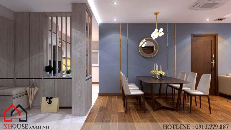 Thiết kế nhà chung cư hiện đại 10