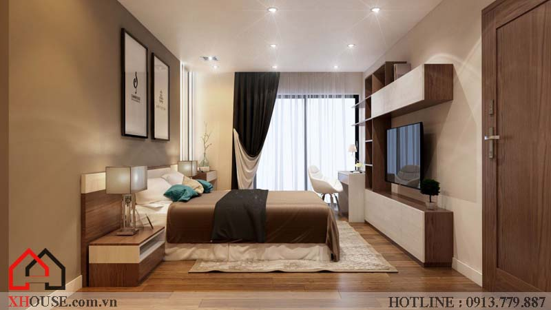 Thiết kế nhà chung cư hiện đại 13